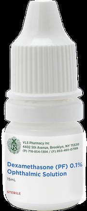 Dexamethasone (PF) 0.01% Ophthalmic Solution 15mL